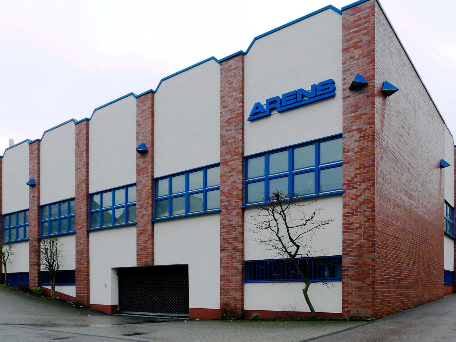 Aluminiumgießerei - Gebäude Aluguss Hugo Arens Iserlohn NRW