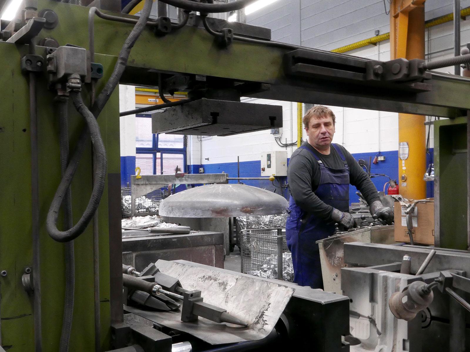 Aluminiumgießerei von Aluminiumguss Arens